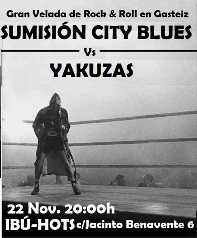 SUMISIÓN CITY BLUES + YAKUZAS