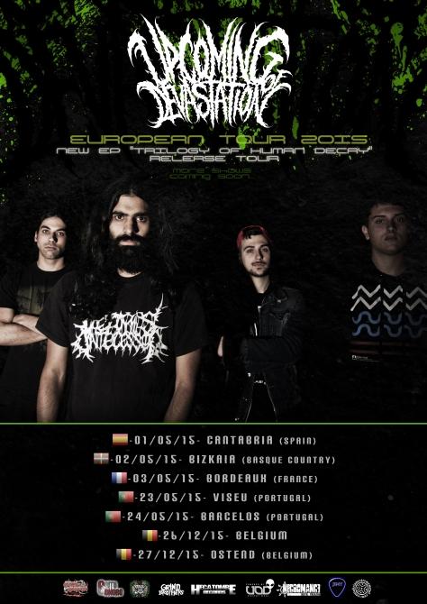 cartel UPCOMING eurotour 2015 VERSION 32345