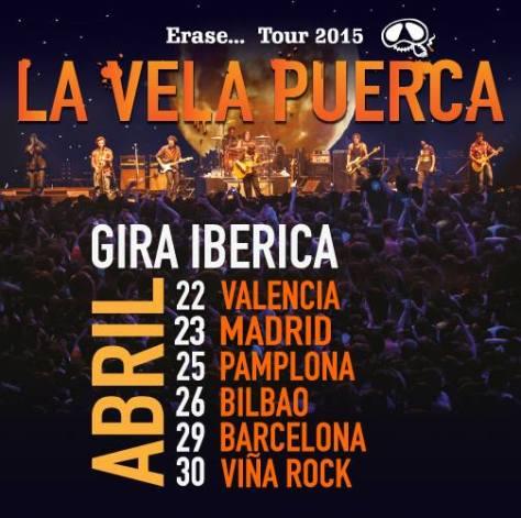 La Vela Puerca desembarca con su gira en la Península Ibérica