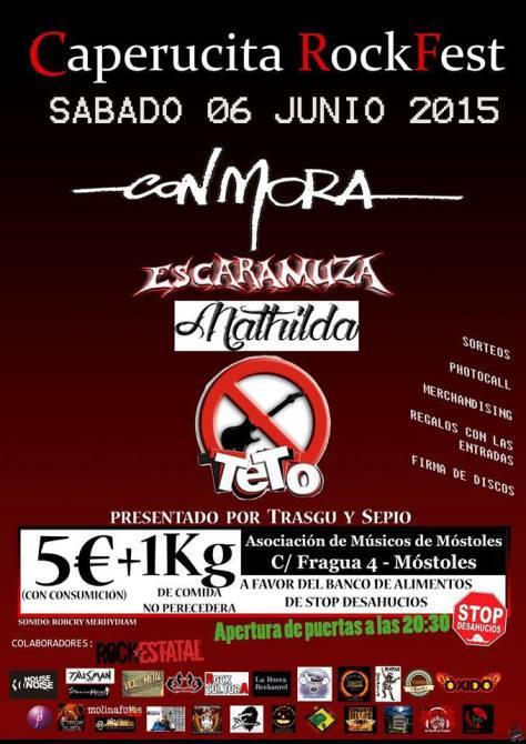 caperucita rock fest 2015