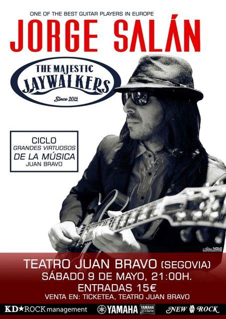 Jorge Salán videoclip y presentación en Ciclo Grandes Virtuosos de la Música