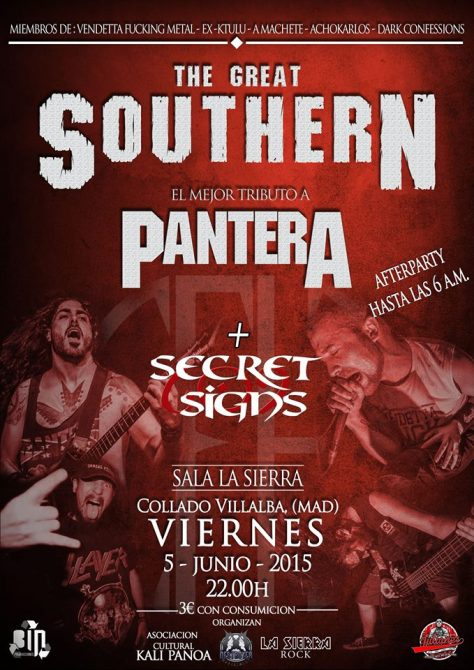 The Great Southern + Secret Signs VILLALBA