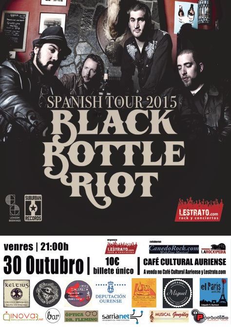 Black Bottle Riot concierto