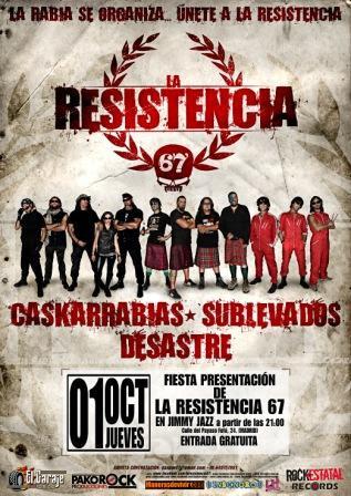 la resistencia 67 concierto