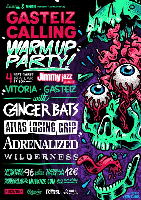 WARM UP PARTY!