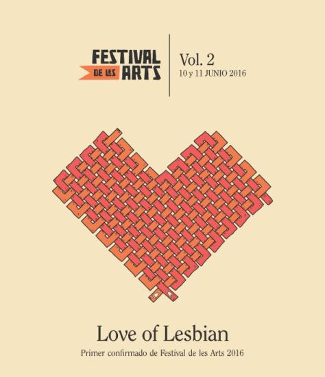 festival de les arts love of lesbian