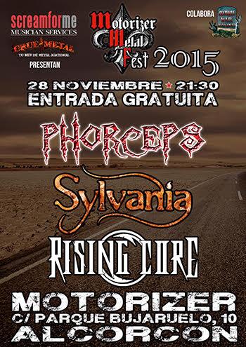 MOTORIZER METAL FEST - 28 de noviembre en Alcorcón