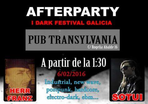 afterparty I Dark Festival Galicia