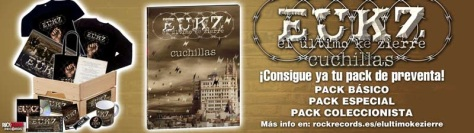 EUKZ presentan portada y preventa exclusiva de 'Cuchillas'