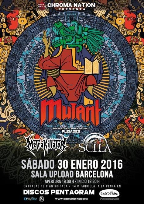 MUTANT presenta 'Pleiades' en Barcelona este sábado