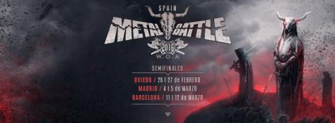 Reparto de Bandas, fechas y Salas para las Semifinales de Metal Battle Spain 2016 1