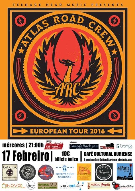 ATLAS ROAD CREW traen a Ourense el talento y descaro de Carolina del Sur 2