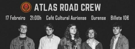 ATLAS ROAD CREW traen a Ourense el talento y descaro de Carolina del Sur