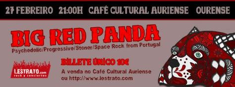 Los portugueses BIG RED PANDA desplegarán en Ourense su stoner psicodélico 1