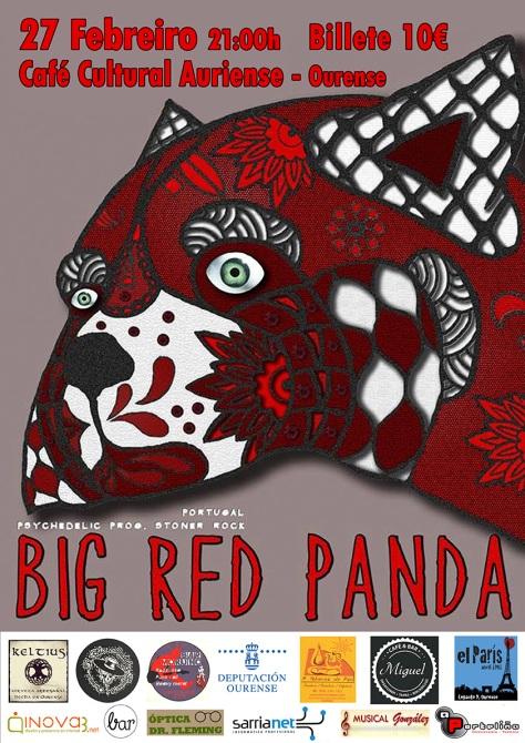 Los portugueses BIG RED PANDA desplegarán en Ourense su stoner psicodélico 2