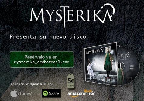 MYSTERIKA lanza su segundo disco de estudio SOS
