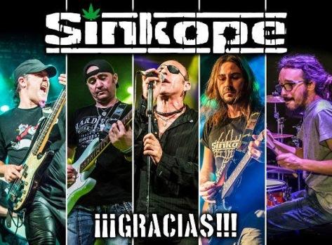 Sínkope presenta su trabajo en directo '¡¡¡Gracias!!!'