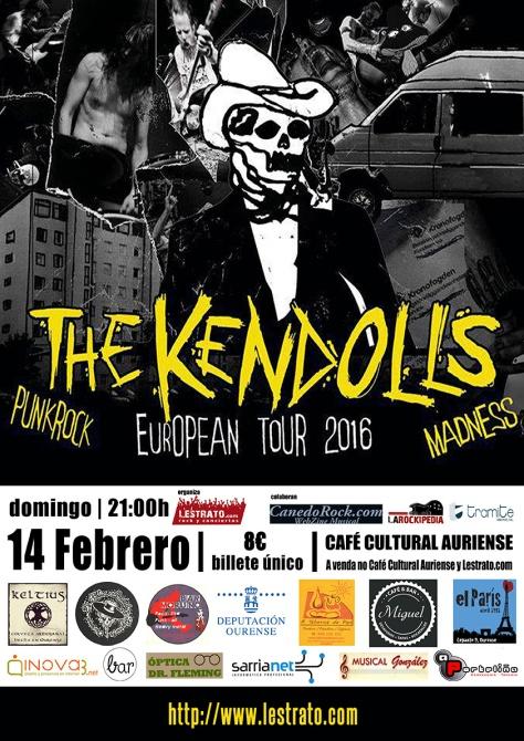 The Kendolls, pura energía y actitud llegada desde Suecia 2