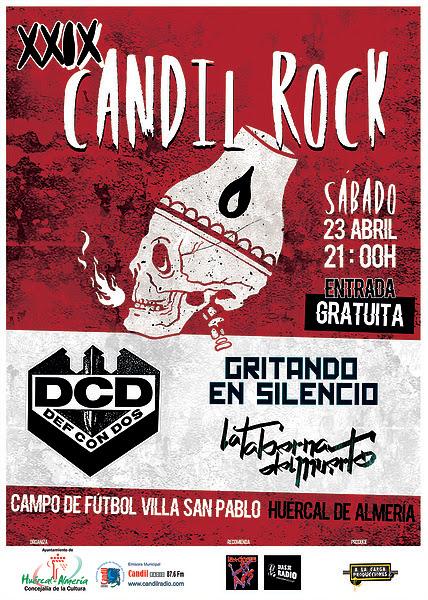 XXIX Candil Rock - Sábado 23 de Abril 2