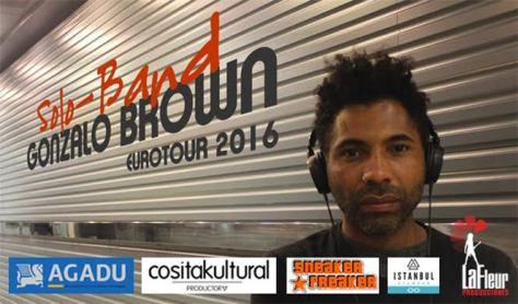 Gonzalo Brown presenta Solo-Band EUROTOUR 2016