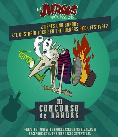III Concurso de bandas Emergentes THE JUERGAS ROCK FESTIVAL