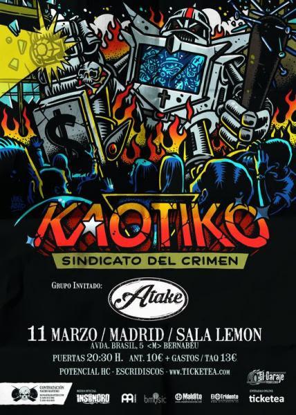 Kaotiko en Madrid