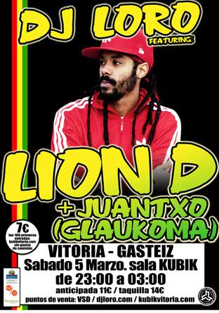 LION D en Gasteiz (KUBIK, 05 Marzo) 2