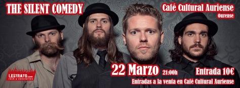 Los americanos THE SILENT COMEDY conquistarán Ourense con su mezcla de blues, rock y folk 1