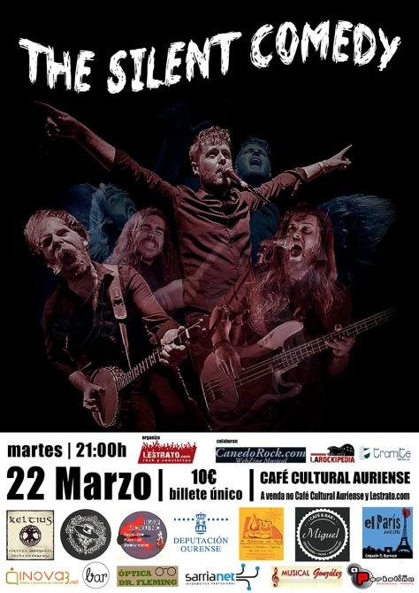 Los americanos THE SILENT COMEDY conquistarán Ourense con su mezcla de blues, rock y folk 2