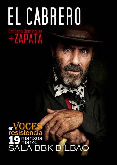 Noche de Flamenco con El Cabrero y Emiliano Domínguez Zapata en la Sala BBK de Bilbao
