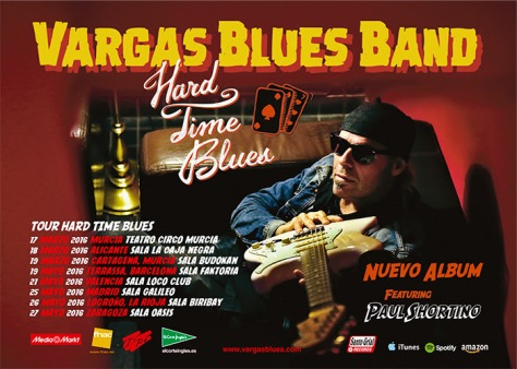 Vargas Blues Band presenta nuevo vídeo clip del single Welcome To The World 1