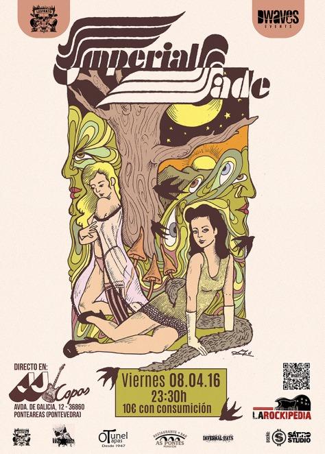 Imperial Jade conquistará Galicia con su exquisito hard rock clásico 2