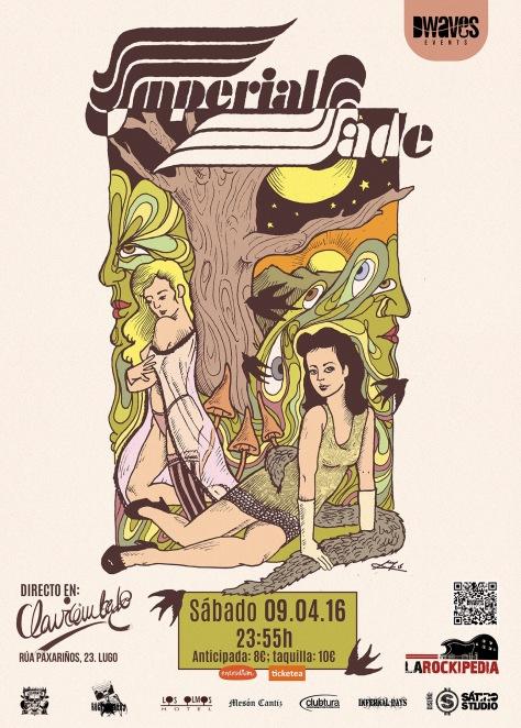 Imperial Jade conquistará Galicia con su exquisito hard rock clásico 3