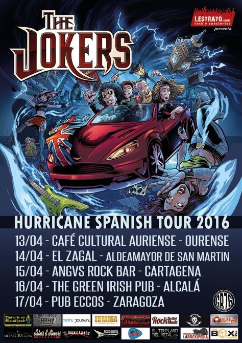 Los británicos The Jokers regresan a España para presentar su Hurricane