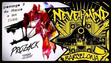 PROZACK actuación en Nevermind 2 de BCN
