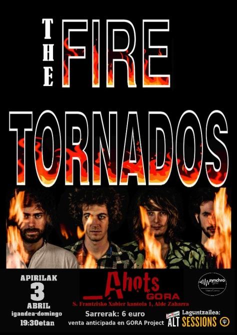 THE FIRE TORNADOS apirilak 3 abril igandea