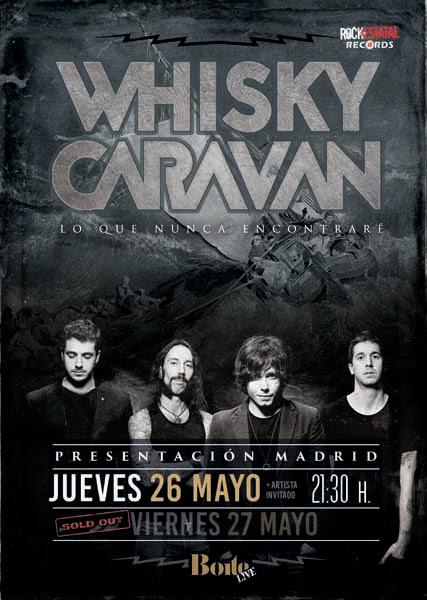 whisky caravan 26 mayo 1