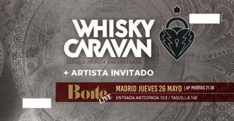 whisky caravan 26 mayo 2
