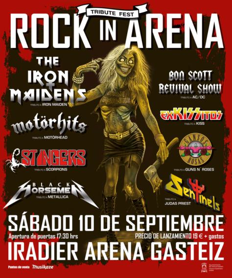 rock in arena cartel