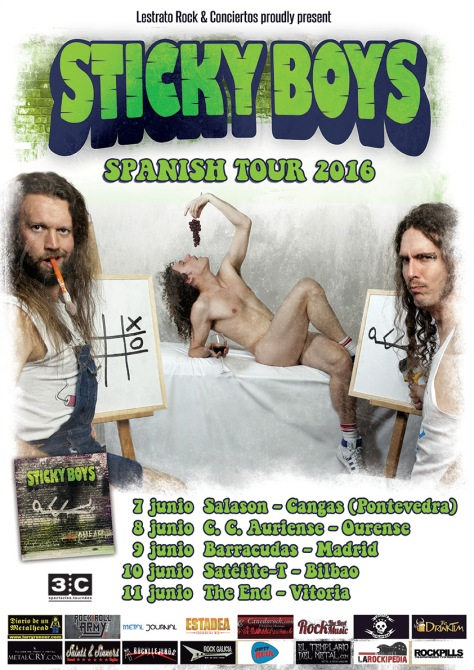 sticky boys 11 junio vitoria