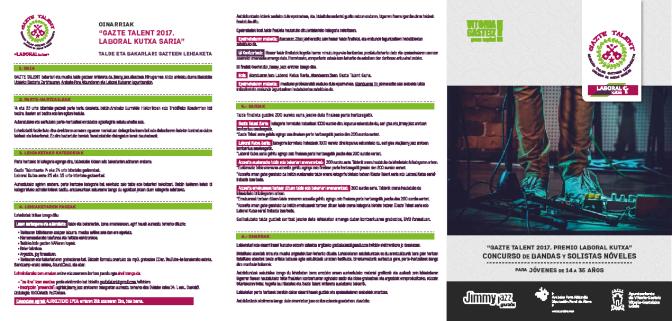El Concurso de Maquetas Musicales de la Diputación se integra en Gazte Talent