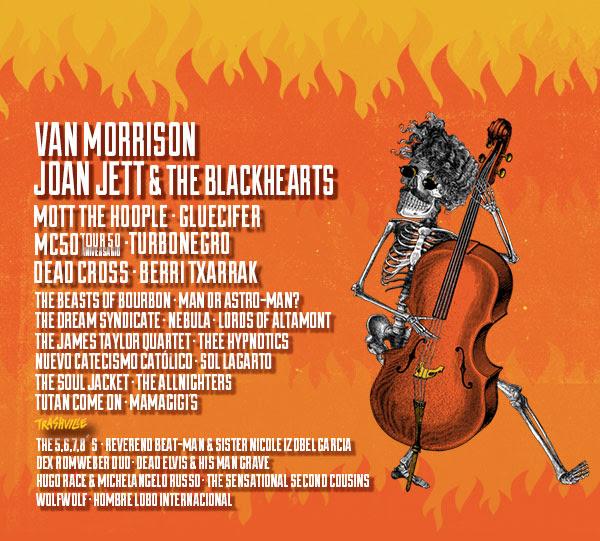El legendario Van Morrison en el Azkena Rock Festival