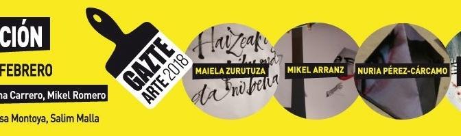 Artistas jóvenes ganadores de Gazte Arte exponen hasta fin de mes en Montehermoso